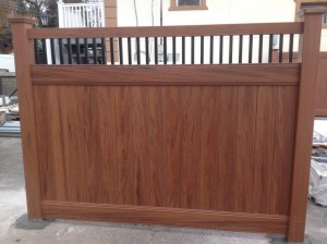 wood fencing westcher ny